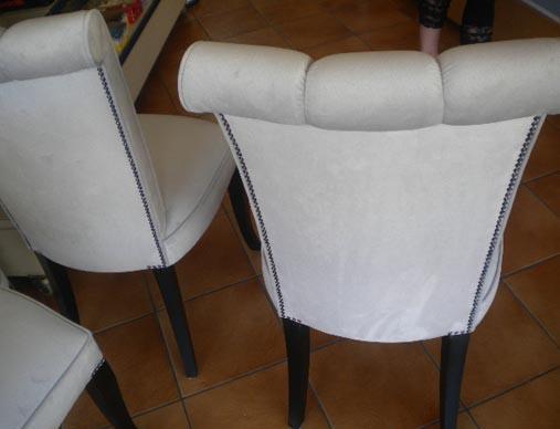 Καρέκλα Stefany με καμπαρα